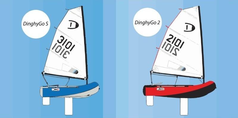 DinghyGo - gommone a vela