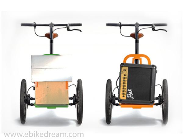 Kiffy Bici Pieghevole E Cargo Bike