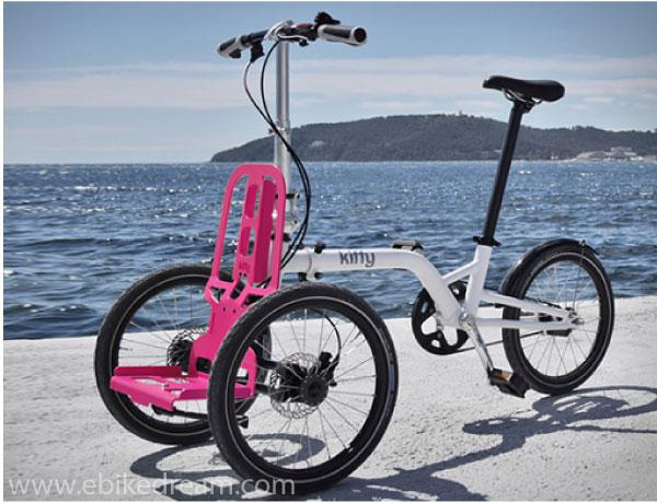 Kiffy: bici pieghevole e cargo bike