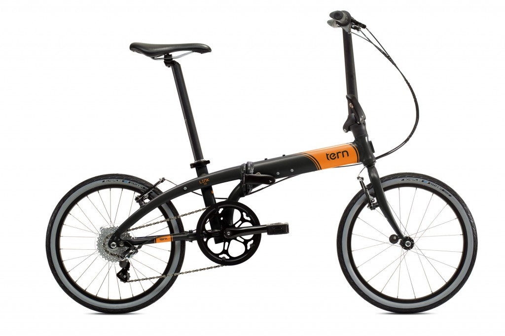 bici-pieghevole-tern-link-d8-nero