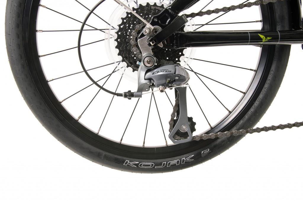 bici-pieghevole-tern-link-d16-nero-verde