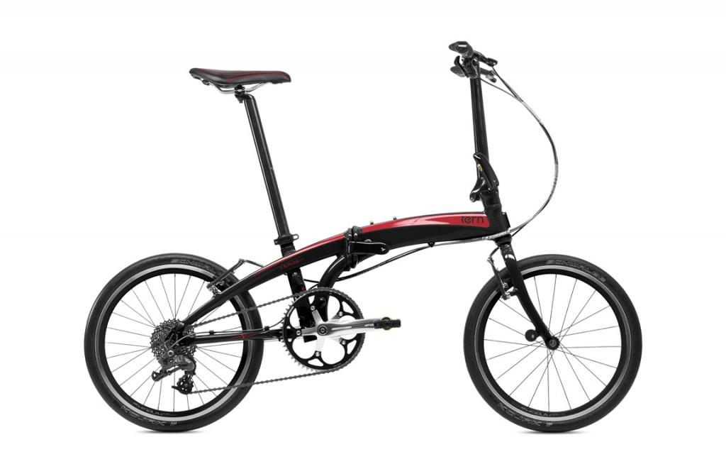 bici-pieghevole-tern-verge-p9-nera